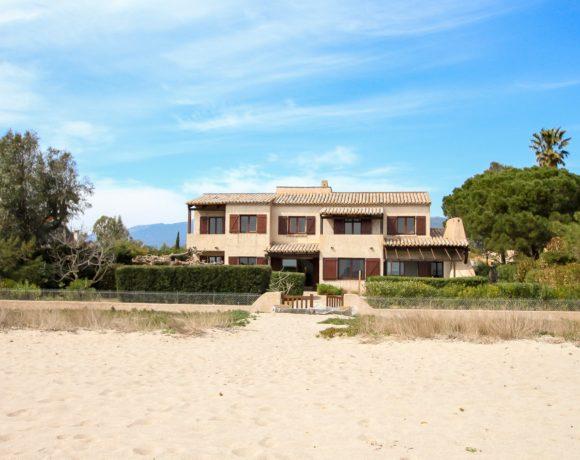 Villa sur la plage de Saint-Cyprien