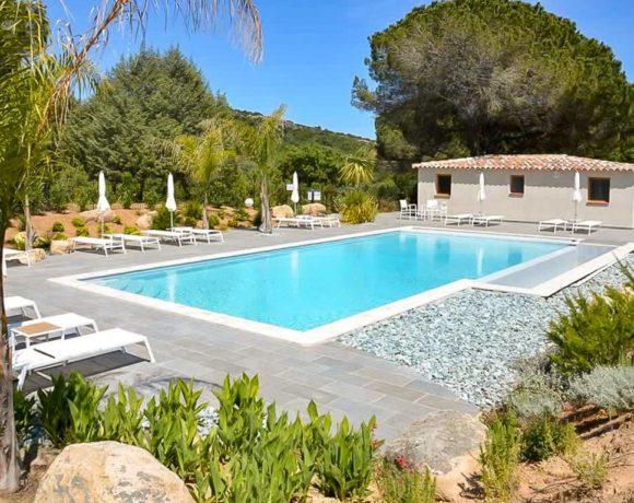 Villa F2 dans résidence sécurisée avec piscine