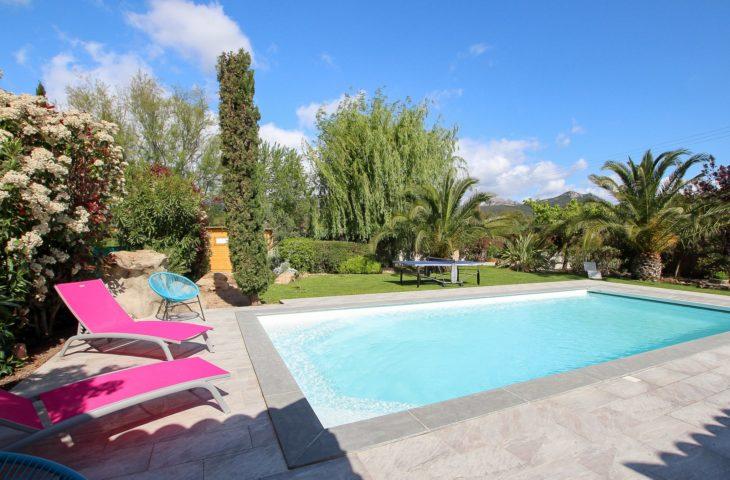Villa T5 avec piscine et Pool house